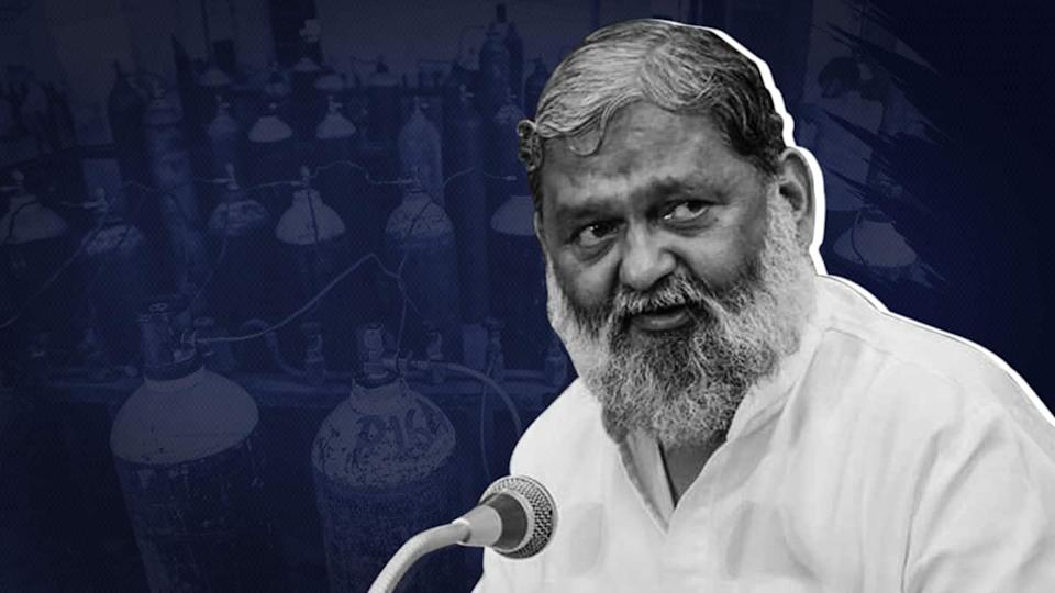Delhi government looted oxygen tanker, alleges Haryana Minister Anil Vij