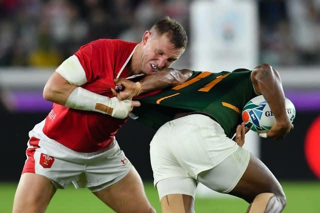Parkes' international career with Wales looks set to be over (Ashley Western/PA)