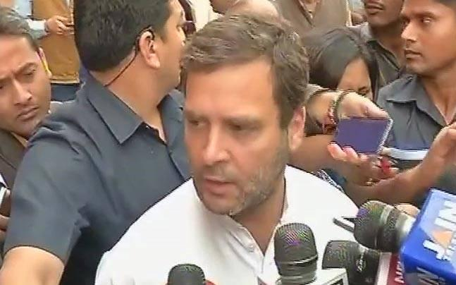 BJP misusing money for power, buying MLAs: Rahul on saffron party staking claim in Goa, Manipur