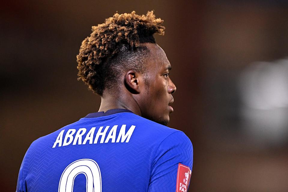 <p>Uncertainty: Tammy Abraham is struggling at Chelsea under Thomas Tuchel</p> (Getty Images)