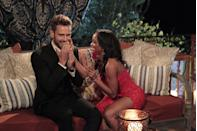 """<p>Or hope your family can bring your ballot to hometowns. On an episode of <a href=""""https://www.theringer.com/2020/11/3/21547151/nick-viall-and-rachel-lindsay-remember-their-fantasy-suite-date-the-day-after-the-2016-election"""" rel=""""nofollow noopener"""" target=""""_blank"""" data-ylk=""""slk:Bachelor Party"""" class=""""link rapid-noclick-resp""""><em>Bachelor Party</em></a>, Nick Viall and Rachel Lindsay discussed voting during the 2016 elections while on his season of <em>The Bachelor</em>. Nick said he could have easily gotten his ballot from producers, but contestants aren't that lucky. Rachel said she didn't get to vote because someone forgot to bring it to hometowns.</p>"""