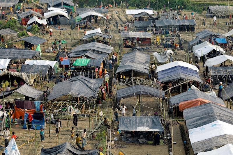 New refugee settlements are mushrooming across Bangladesh (AFP Photo/K M ASAD)