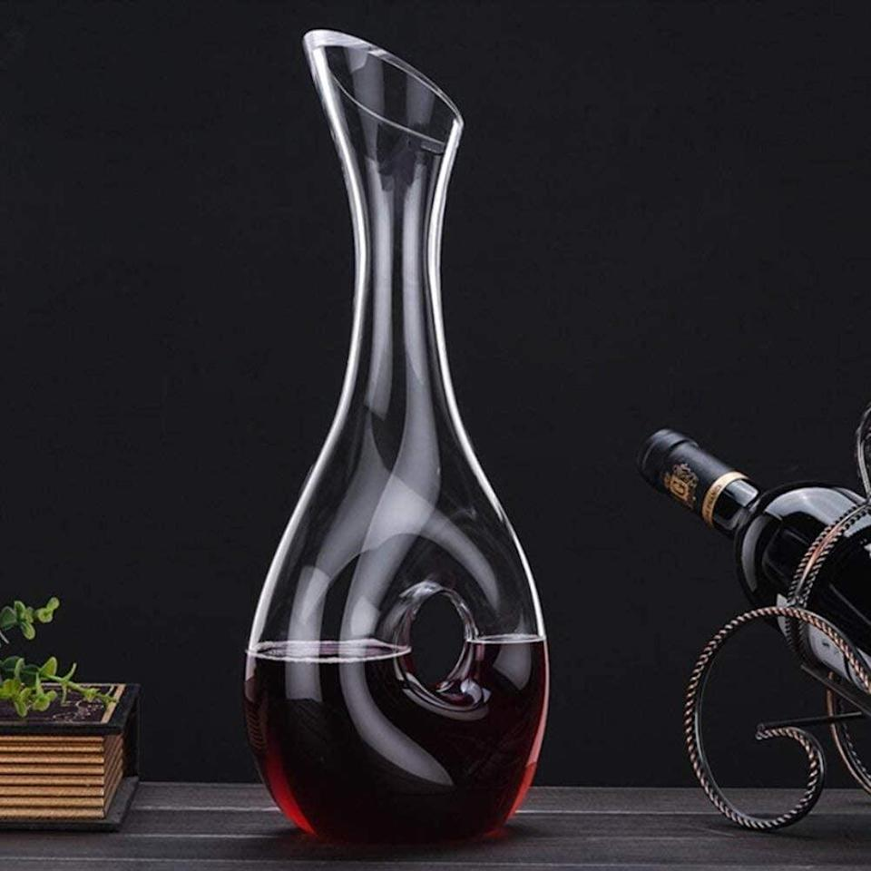 <p><span>Clear Wine Decanter</span> ($27, originally $29)</p>