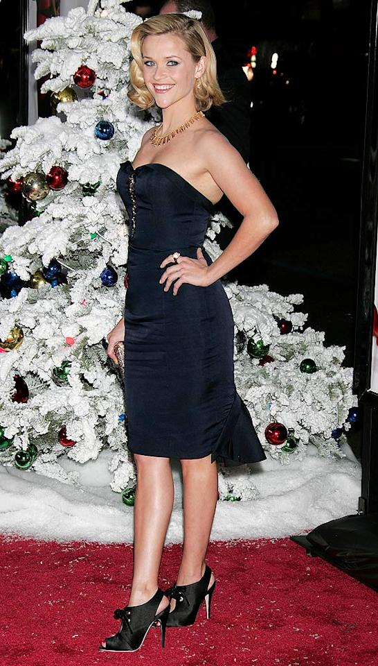 """Four Christmases"" star Reese Witherspoon revealed that she's not ready to marry her boyfriend of one-and-a-half years Jake Gyllenhaal. The actress -- who split with Ryan Phillippe in 2006 -- told Parade, ""Obviously, I'm not far enough out of being married to think about doing it again."" David Livingston/<a href=""http://www.gettyimages.com/"" target=""new"">GettyImages.com</a> - November 20, 2008"