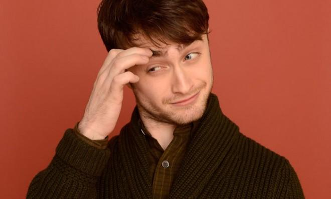 Wear all the old-man sweaters you like, Daniel Radcliffe, you'll always be The Boy Who Lived.