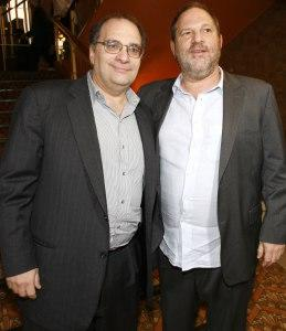 (L-R) Bob and Harvey Weinstein