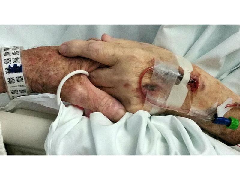 North Carolina Couple of 59 Years Dies Holding Hands: 'When We Get to Heaven, We Can Walk in Together'| Real People Stories
