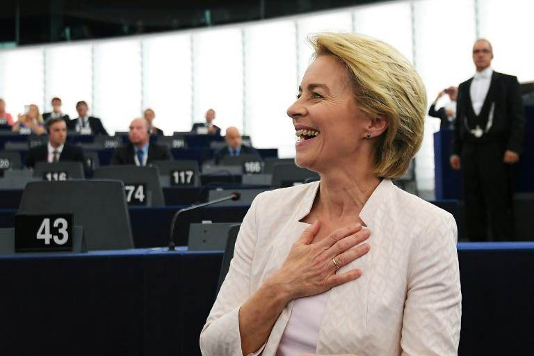 Ursula von der Leyen has been elected as the first woman to be president of the European Commission