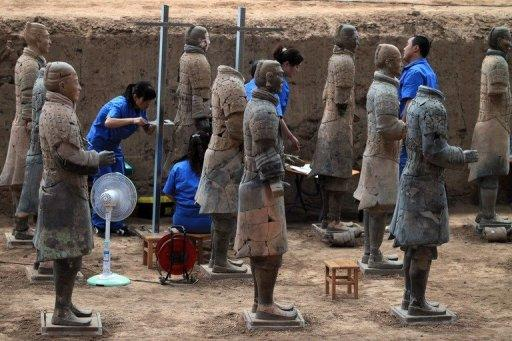 The Terracotta Warriors and Horses Museum is a UNESCO World Heritage site