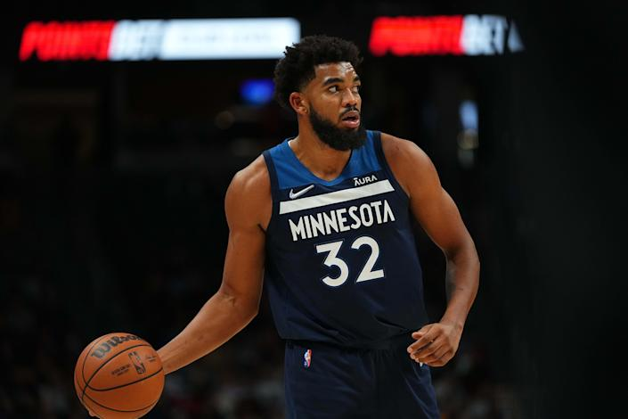Karl-Anthony Towns lost his mother to the coronavirus in 2020.