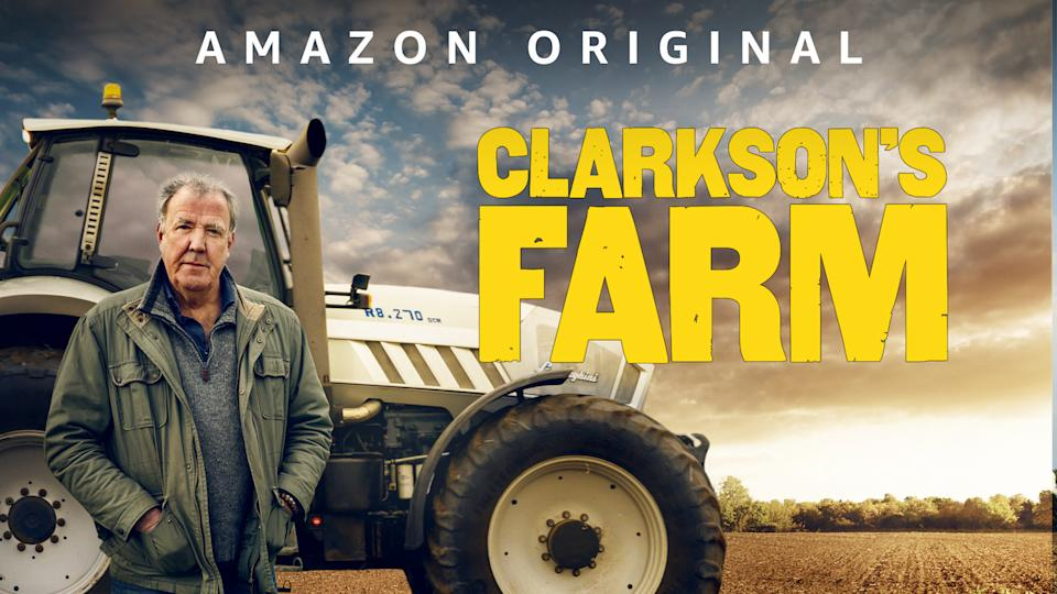 'Clarkson's Farm' explores the 'Grand Tour' presenter's journey into the world of agriculture. (Amazon)