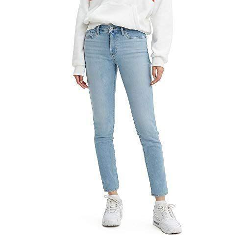 """<p><strong>Levi's</strong></p><p>amazon.com</p><p><a href=""""https://www.amazon.com/dp/B07F19YLV9?tag=syn-yahoo-20&ascsubtag=%5Bartid%7C10072.g.36792599%5Bsrc%7Cyahoo-us"""" rel=""""nofollow noopener"""" target=""""_blank"""" data-ylk=""""slk:SHOP NOW"""" class=""""link rapid-noclick-resp"""">SHOP NOW</a></p><p><strong><del>$69.50</del> $29.41 (58% off)</strong></p><p>Or if you'd rather show off your curves in denim, these Levi's skinny jeans are a tried-and-true favorite for the mid-rise fit, comfy stretch, and perfectly faded washes.</p>"""