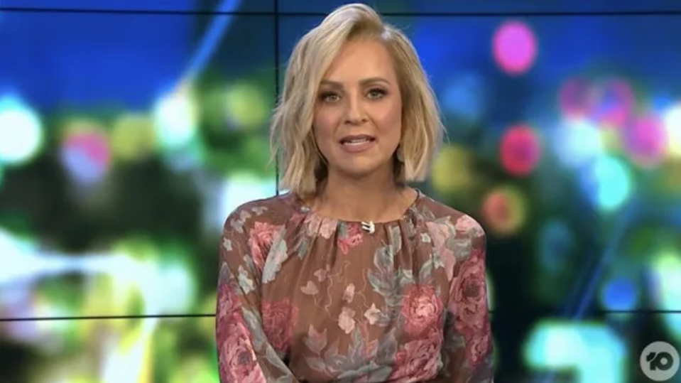 The Project host Carrie Bickmore
