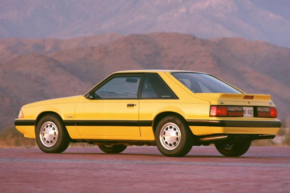 <p>1990 Ford Mustang LX</p>