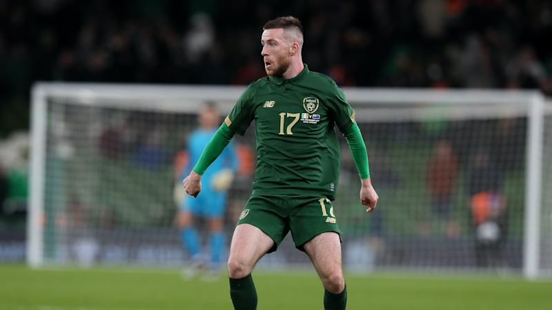 Shamrock midfielder Jack Byrne handed Republic call-up for Slovakia play-off