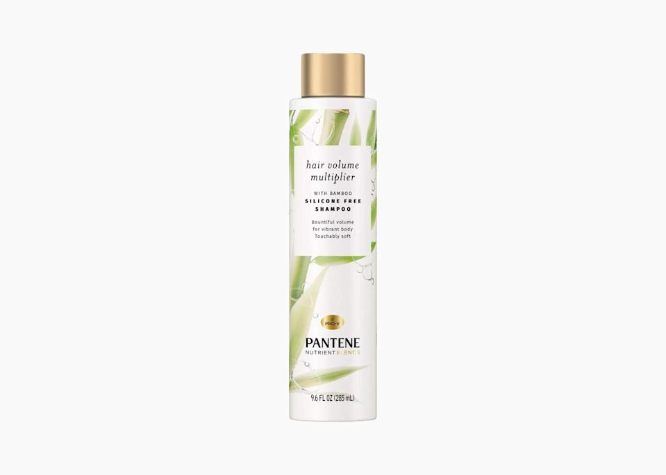 "$9, Target. <a href=""https://www.target.com/p/pantene-nutrient-blends-hair-volume-multiplier-with-bamboo-shampoo-for-fine-hair-17-9-fl-oz/-/A-76556190"" rel=""nofollow noopener"" target=""_blank"" data-ylk=""slk:Get it now!"" class=""link rapid-noclick-resp"">Get it now!</a>"