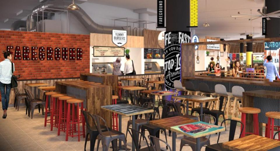 Pasir Ris Central Hawker Centre will feature a variety of traditional hawker fare and modern kitchens of hipster hawkers. (Photo: NTUC Foodfare)