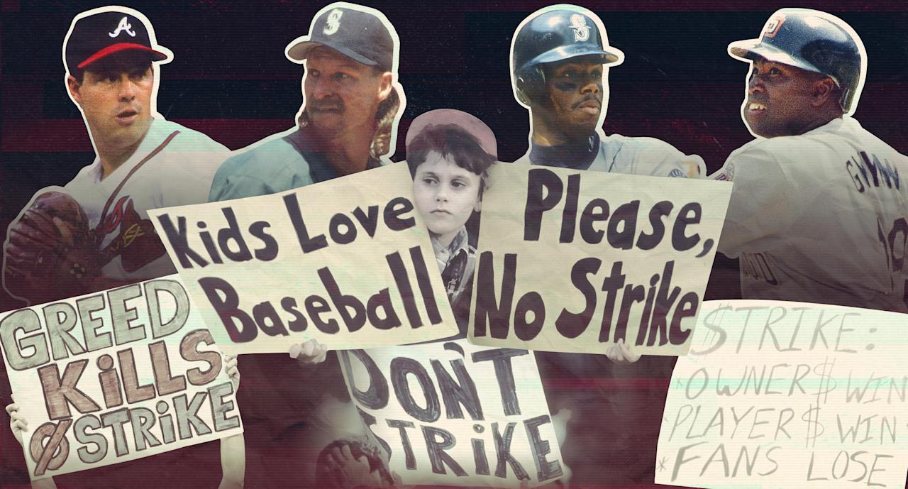 August 11, 1994: Scenes from a lost MLB season