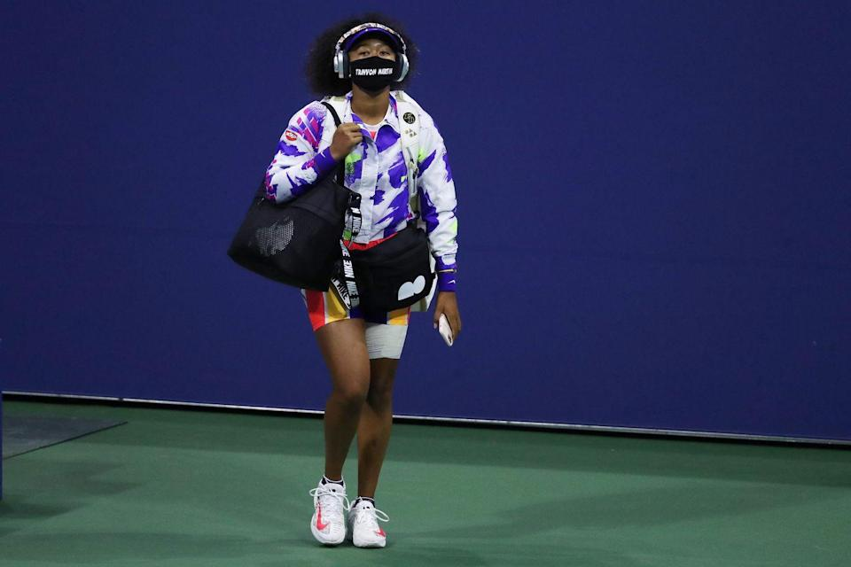 Naomi Osaka Had an Emotional Response to Messages of Thanks From Trayvon Martin and Ahmaud Arbery's Families