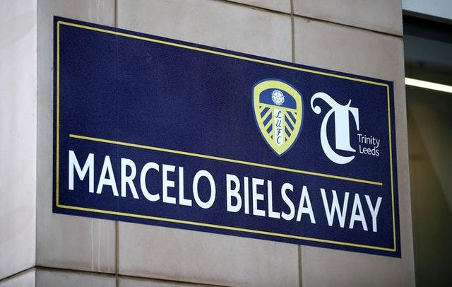 A street through Trinity Leeds shopping centre has been renamed Marcelo Bielsa Way in tribute to the United boss