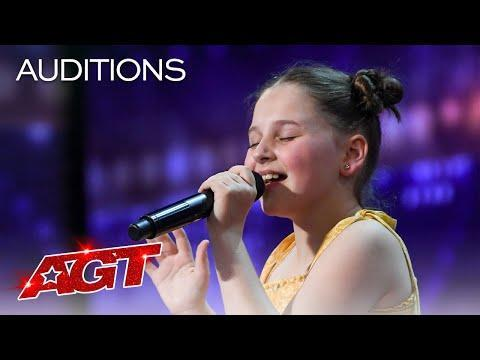 "<p>This young singer brought sass and strong vocals to her audition, resulting in a standing ovation from the crowd after she finished singing ""Dance Monkey"" by <strong>Tones and I</strong>. Simon, Heidi, Sofía, and Howie didn't hesitate to give her a chance to rock the stage in the quarterfinals.</p><p><a href=""https://www.youtube.com/watch?v=sxxPuBDhHTM"" rel=""nofollow noopener"" target=""_blank"" data-ylk=""slk:See the original post on Youtube"" class=""link rapid-noclick-resp"">See the original post on Youtube</a></p>"
