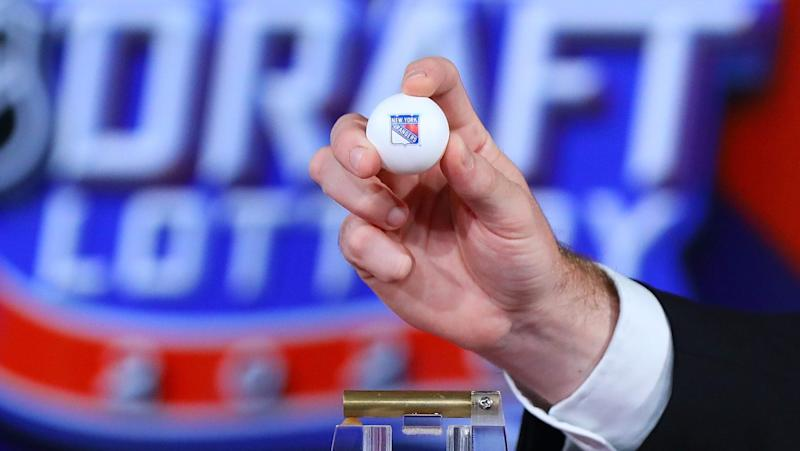 Rangers' rebuild gets another significant piece with Draft Lottery win