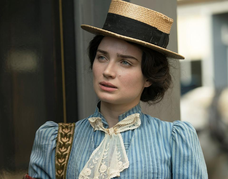 Eve Hewson as Anna Wetherell in 'The Luminaries'. (BBC)