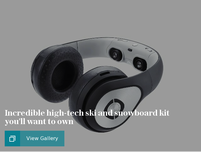 Incredible high-tech ski and snowboard kit you'll want to own