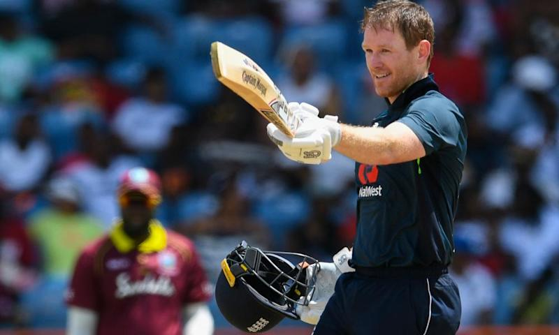 Eoin Morgan will hope his side can meet expectations