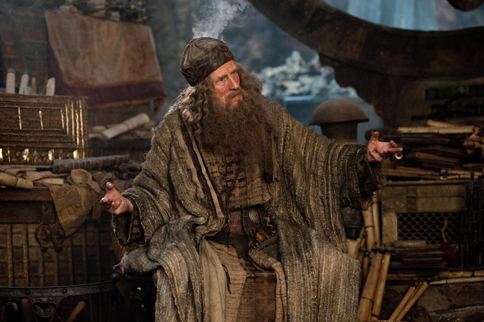 "Bill Nighy in Warner Bros. Pictures' <a href=""http://movies.yahoo.com/movie/wrath-of-the-titans/"" data-ylk=""slk:Wrath of the Titans"" class=""link rapid-noclick-resp"">Wrath of the Titans</a> - 2012"