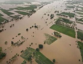 Haryana CM Manohar Lal Khattar conducts aerial survey of flood-affected areas