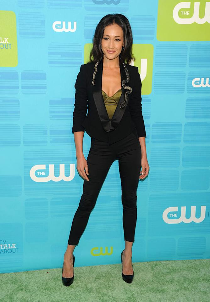 "Maggie Q (""<a href=""/nikita/show/46555"">Nikita</a>"") attends the 2010 The CW Upfront at Madison Square Garden on May 20, 2010 in New York City."
