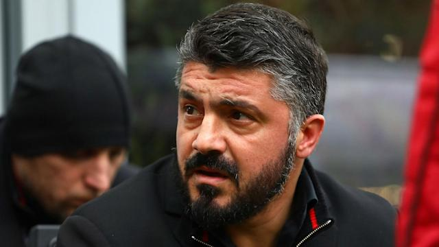 AC Milan must work hard to hold off pressure in the race for a Europa League place, says coach Gennaro Gattuso.