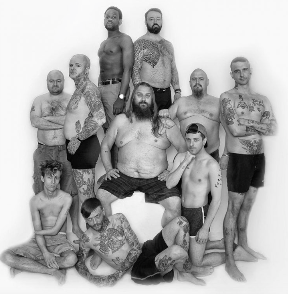 10 men have taken part in an empowering shoot to raise awareness about male body image [Photo: Bri Mansy/Alternative Fashion Fest]