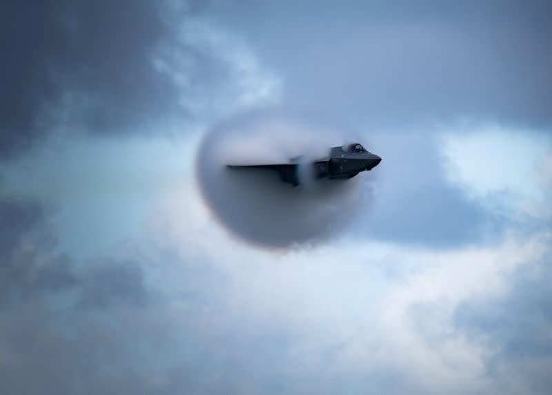 FILE PHOTO: F-35 Demo Team at the 2020 Ft. Lauderdale Air Show