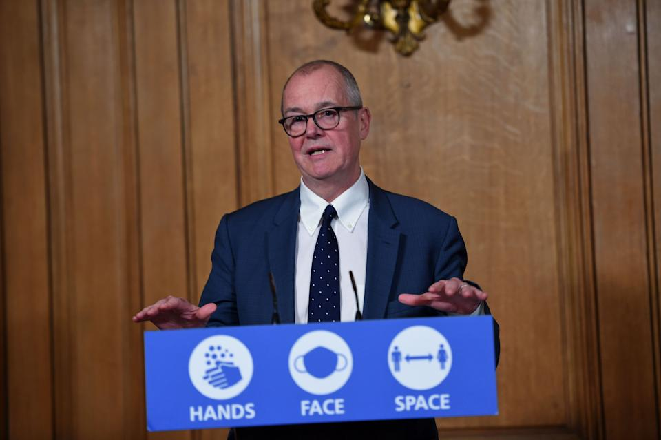 Chief scientific adviser Sir Patrick Vallance during a media briefing in Downing Street, London, on coronavirus (COVID-19). (Photo: PA)