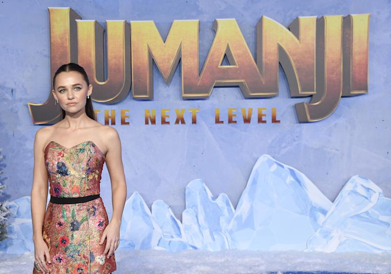 Madison Iseman arrives at the JUMANJI THE NEXT LEVEL Los Angeles Premiere held at the TCL Chinese Theatre in Hollywood, CA on Monday, ?December 9, 2019. (Photo By Sthanlee B. Mirador/Sipa USA)