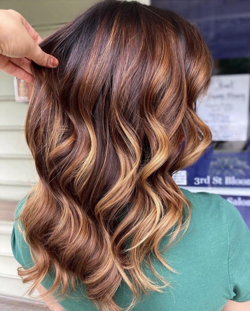 15 Flattering Hair Colors That Prove Balayage Is Perfect For Fall