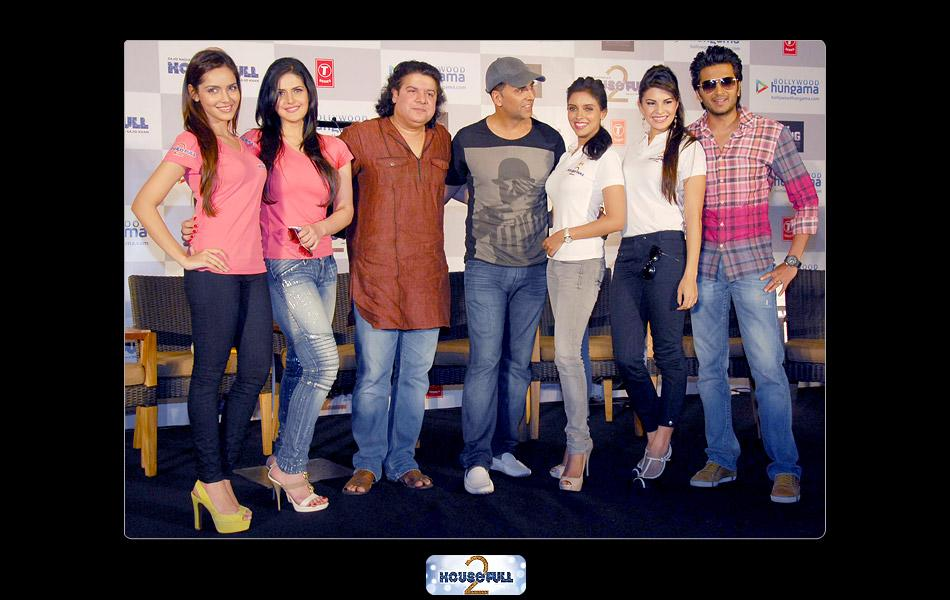 Housefull 2 - The Dirty Dozen promises to take the audience on a laughter ride when the film hits the screens on Friday.