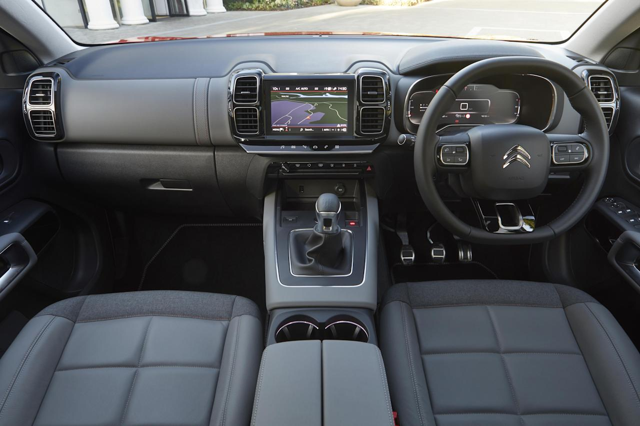 <p>The interiors are again very different. The quality is superb and the insides feel luxurious with lots of square shapes and distinctive design details. You get the sense that being unique is the priority here rather than following norms. </p>