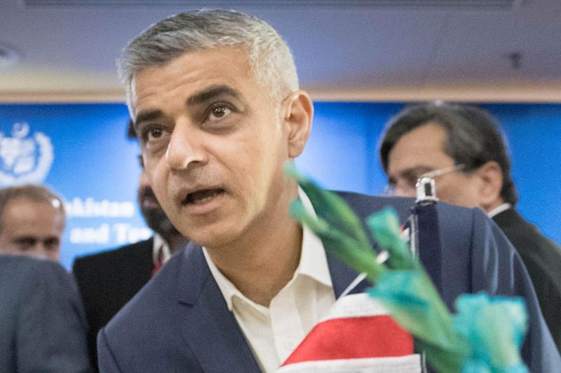 Sadiq Khan has condemned Donald Trump's decision to recognise Jerusalem as the capital of Israel