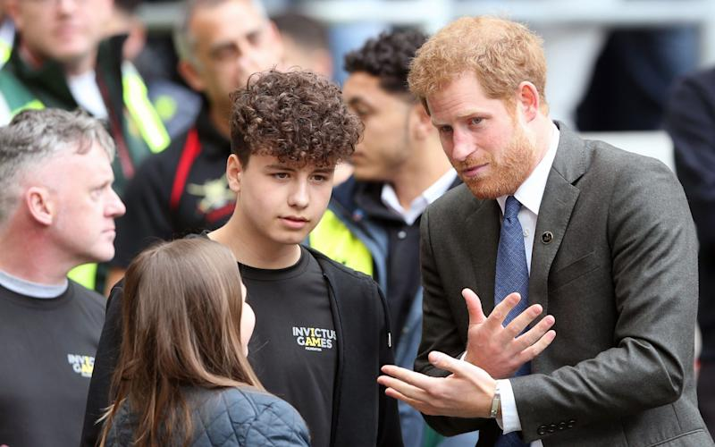 Prince Harry - Credit: Rex Features