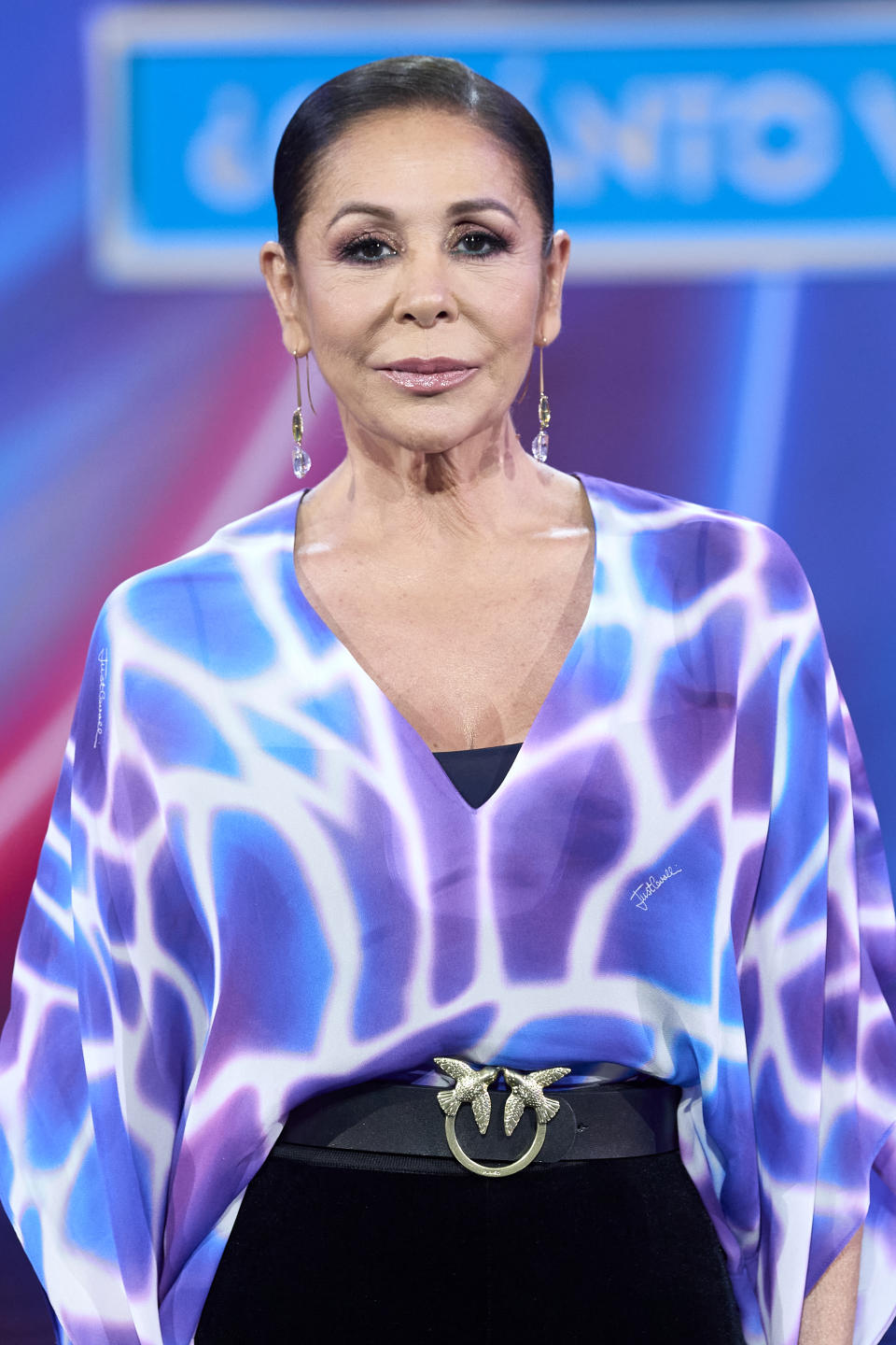 MADRID, SPAIN - APRIL 29: Isabel Pantoja attends 'Top Star ¿Cuanto Vale Tu Voz?' photocall at Mediaset Studios on April 29, 2021 in Madrid, Spain. (Photo by Carlos Alvarez/Getty Images)