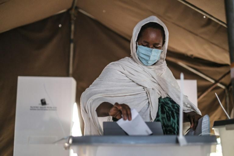 Voters have been turning out in their droves to take part in elections billed as the most democratic in Ethiopia's history