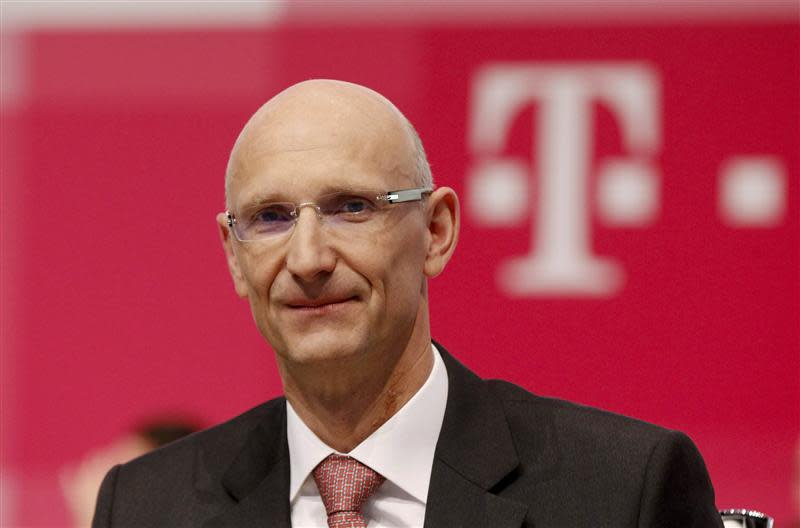 File photo of Deutsche Telekom AG member of the board of management Hoettges attending the company's general shareholders meeting in Cologne