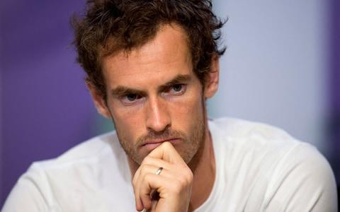 Andy Murray has a big decision to make over his hip injury - Credit: PA