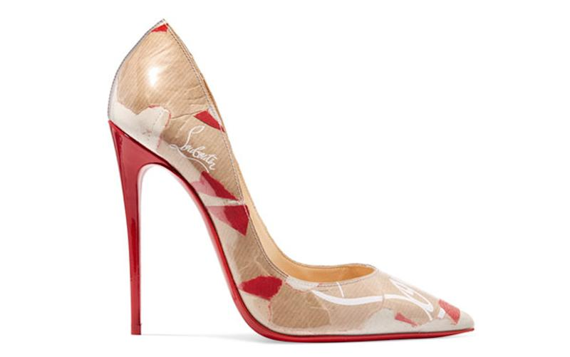 c98f6279a Celebs Love These $800 High Heels Made of Trash