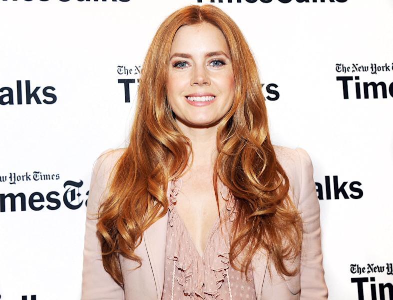Amy Adams revealed that dyeing her strawberry blonde hair red helped her career in a Nov. 9 TimesTalks conversation — read more