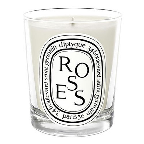 """This candle smells as good as it'll look on her mantlepiece. <br><br><strong>Diptyque</strong> Roses Candle, 6.5 oz., $, available at <a href=""""https://amzn.to/3pdKnp5"""" rel=""""nofollow noopener"""" target=""""_blank"""" data-ylk=""""slk:Amazon"""" class=""""link rapid-noclick-resp"""">Amazon</a>"""