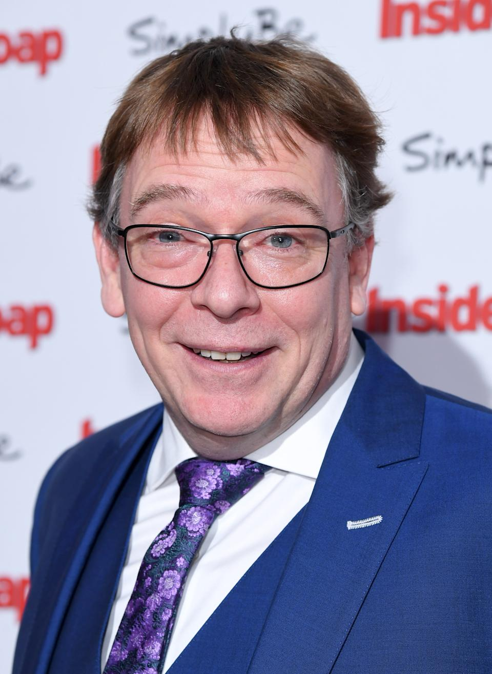 Adam Woodyatt attends the Inside Soap Awards at The Hippodrome on November 6, 2017 in London, England.  (Photo by Karwai Tang/WireImage)